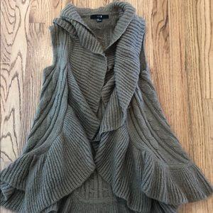 Cardigan sweater Vest